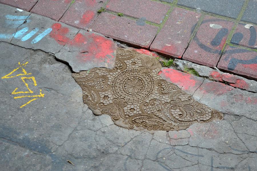 I merletti urbani di NeSpoon